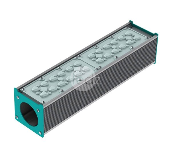 ledz e-Road 50-700 D0 outdoor LED luminaires are suitable for installation on poles up to 12 meters high; various optics and automation options are available. The e-Road case is very compact and lightweight. The lamp is made in Belarus