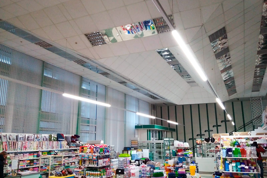 The Belarusian manufacturer of LED luminaires ledz now in Gaspadar with fixtures e-Trade 100 CM