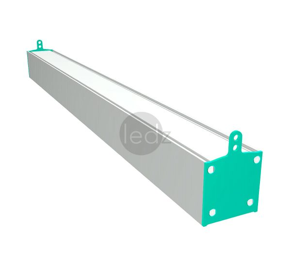 LED linear aluminum luminaire ledz e-Line is suitable for commercial and industrial facilities