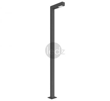 Stylish park LED lamps-poles ledz e-Park Belarusian production Elredy-pro