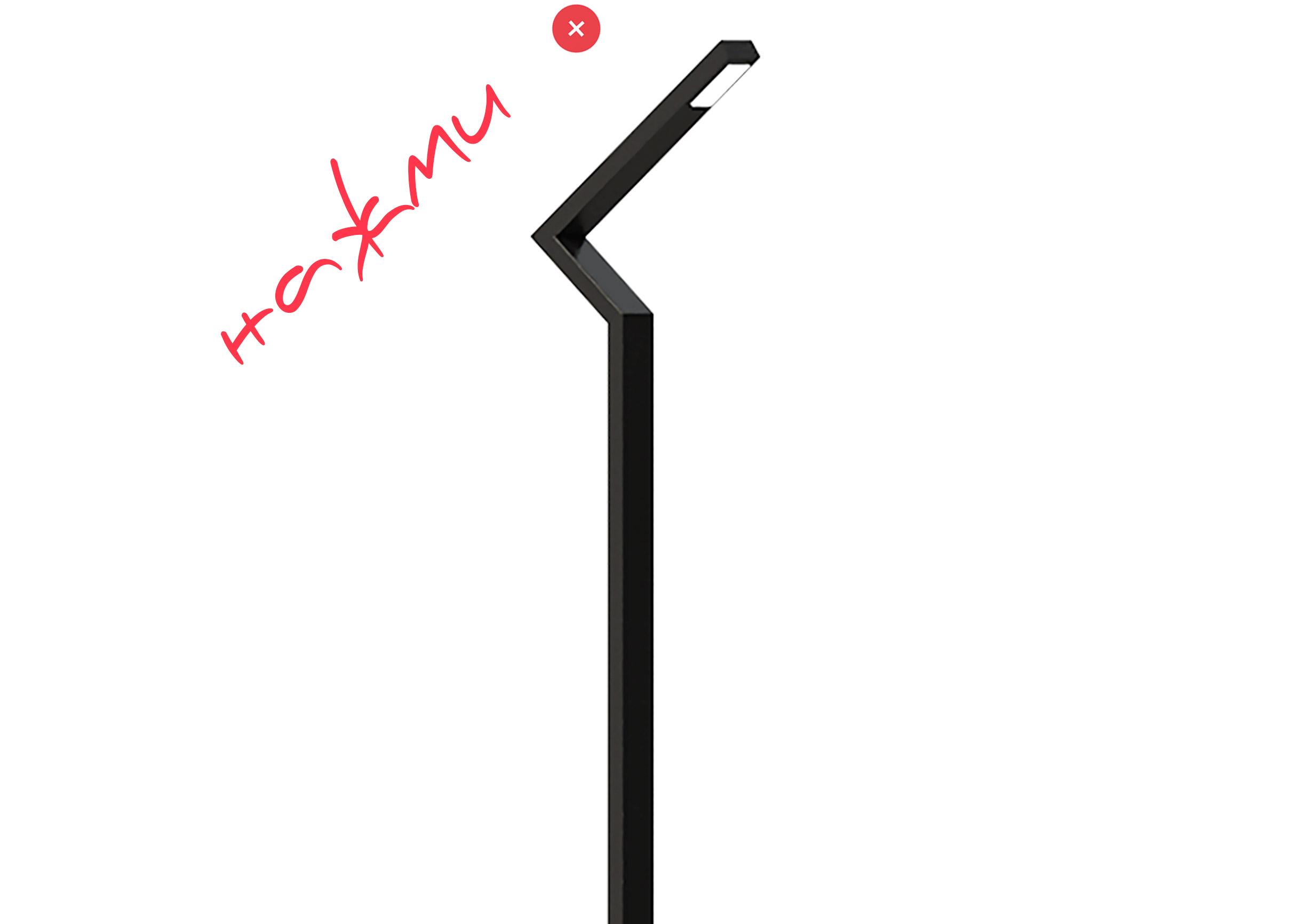 купить декоративный LED светильник, парковая опора уличного освещения ledz e-Park 600-1400