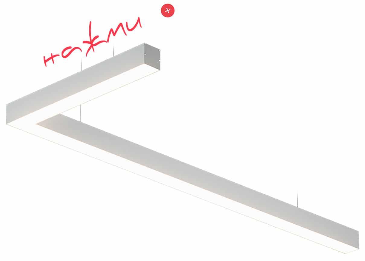 Светодиодные светильники ledz e-Admin могут соединяться в любые формы под углом, в треугольники, квадраты и любые другие фигуры. Изготовлены в Беларуси
