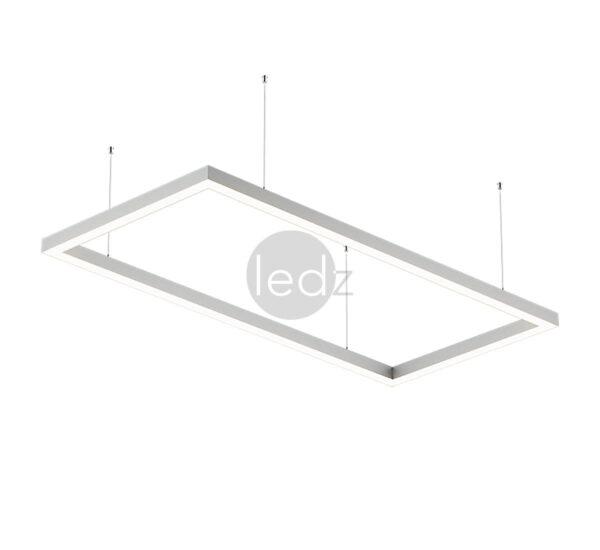 Светодиодные линейные светильники ledz e-Admin могут соединяться в любые формы без швов и видимых разрывов. Изготовлены в Беларуси